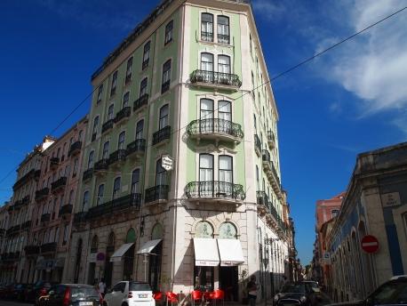 my hotel in Lisbon