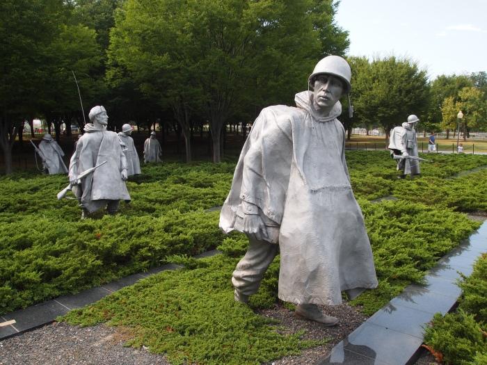 patrol squad in Korea