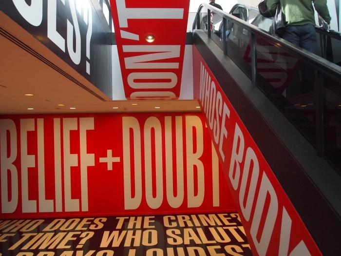 Kruger's Belief+Doubt
