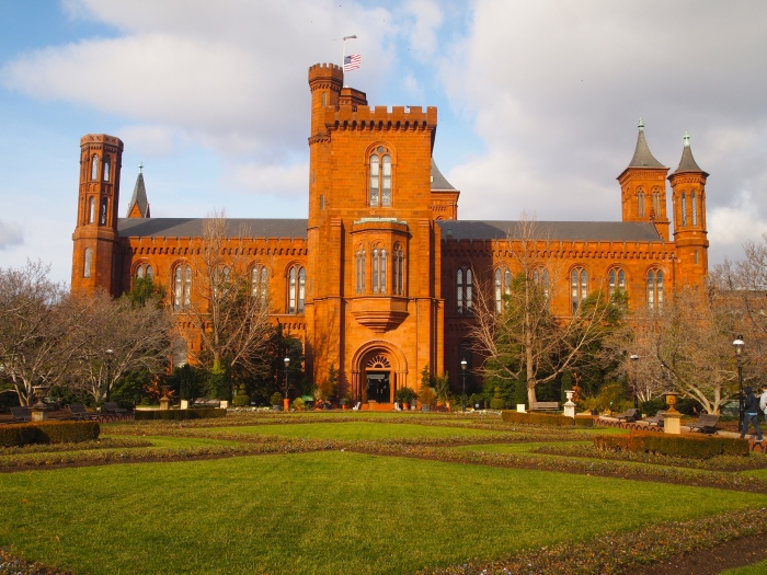 enid a haupt garden and the smithsonian castle
