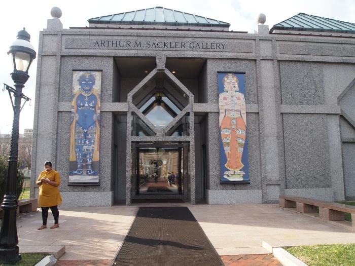 the Arthur M. Sackler Gallery