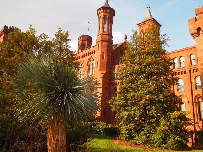parting shots of the smithsonian castle
