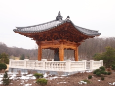 Bell Pavilion at the Korean Bell Garden
