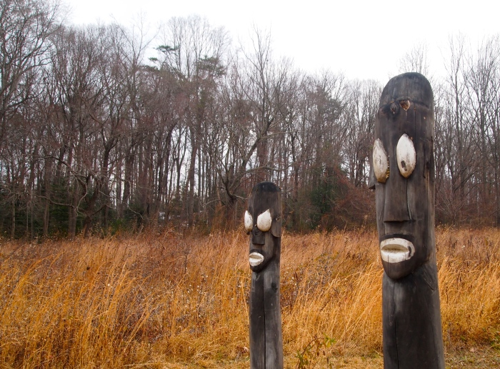 Korean totems in the Experimental Meadow