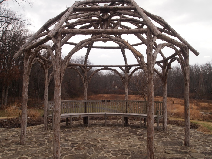 twig viewing pavilion