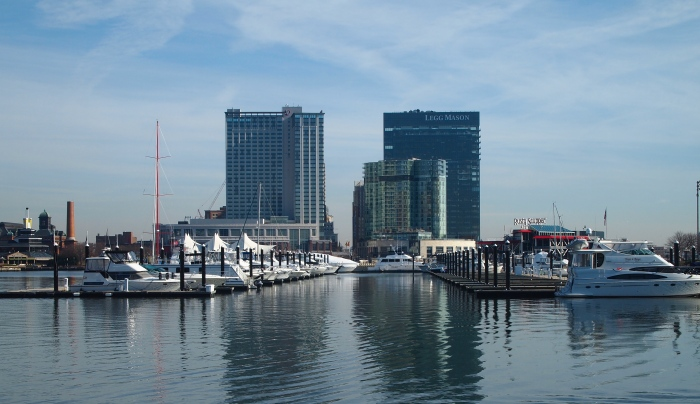 Inner Harbor and marina