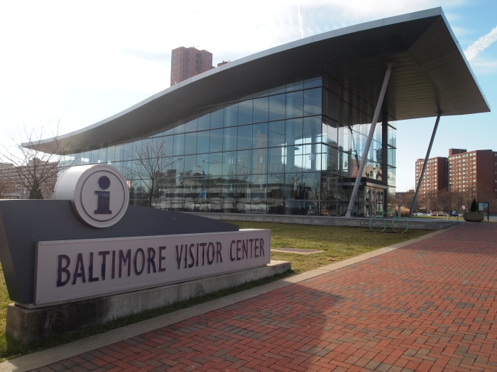 the Baltimore Visitor's Center
