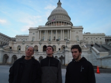 Mike, Adam and Alex at the U.S. Capitol