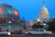 U.S. Botanic Garden Conservatory & U.S. Capitol