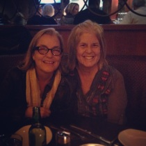 Steph and me at P.F. Changs on our last night