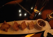 shrimp dumplings at P.F. Chang