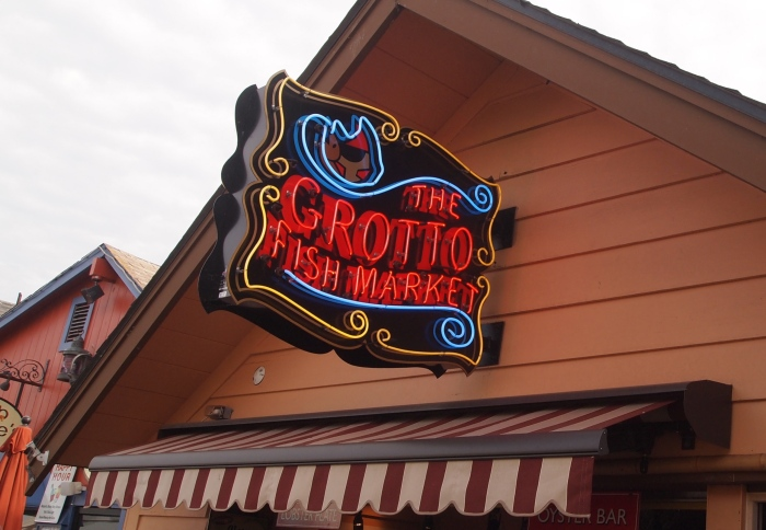 The Grotto Fish Market on Fisherman's Wharf