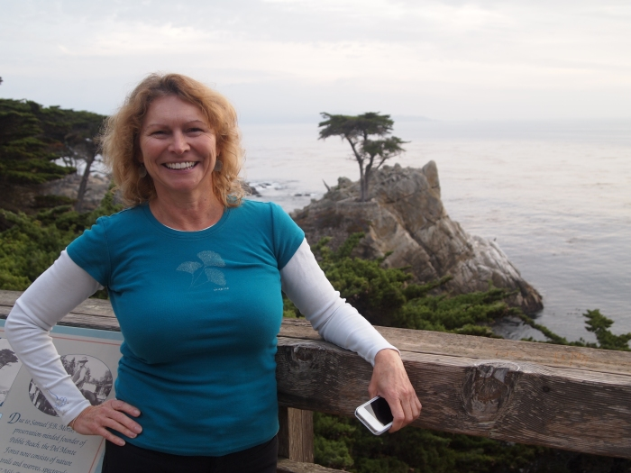 Jayne at the Lone Cypress