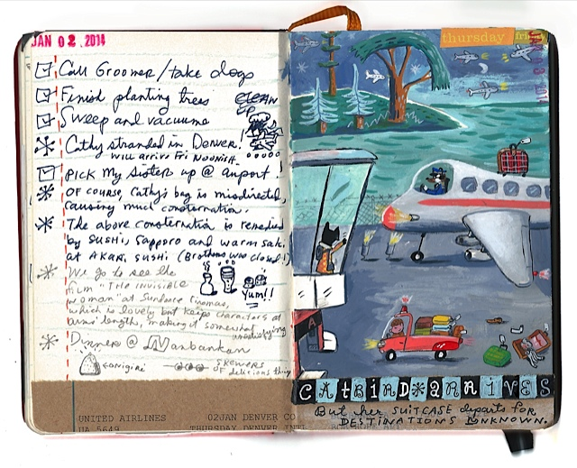 ~ journal entry by Stephanie Birdsong, in homage to my visit :-)