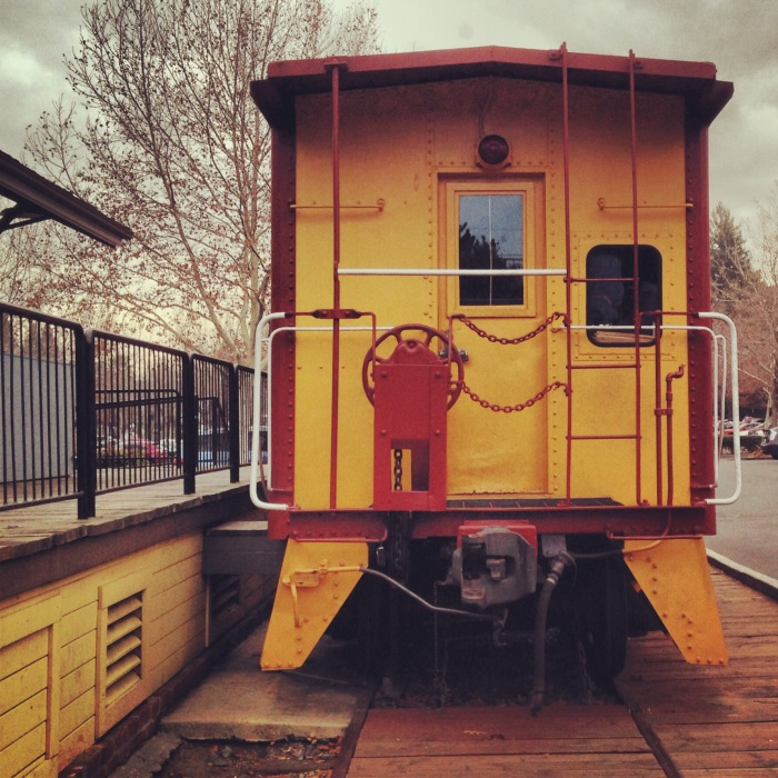 Train at the Museum of the San Ramon Valley