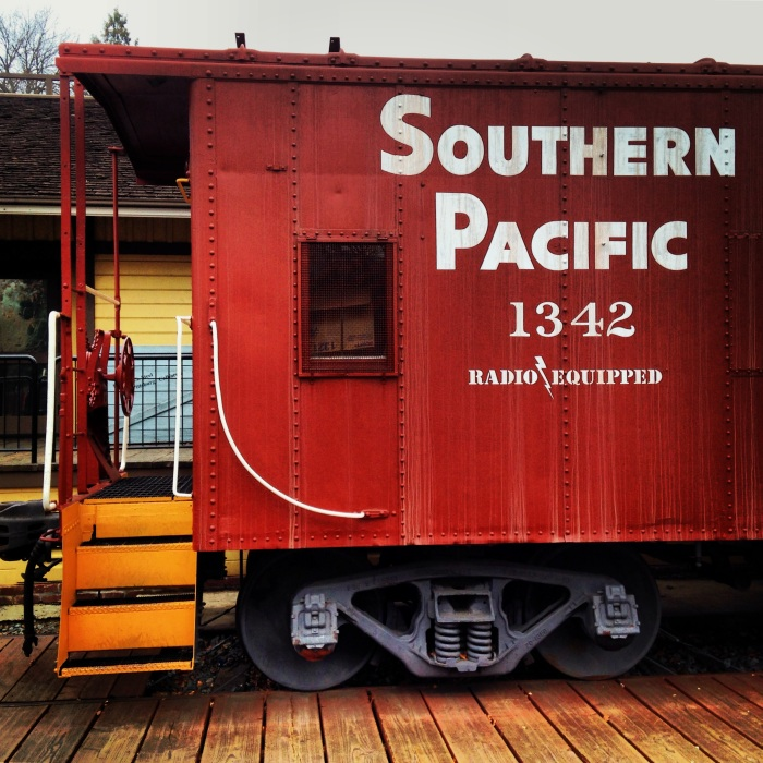 Southern Pacific at the Museum of the San Ramon Valley