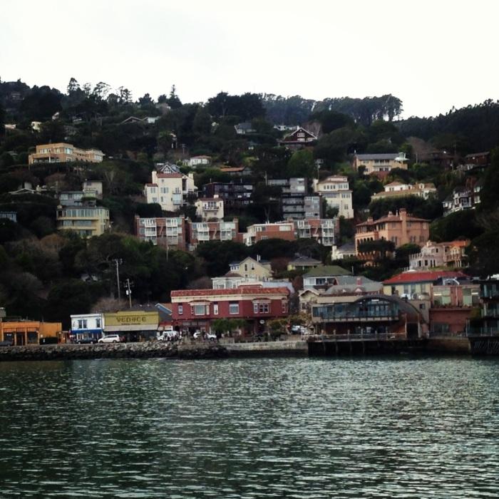 approaching Sausalito