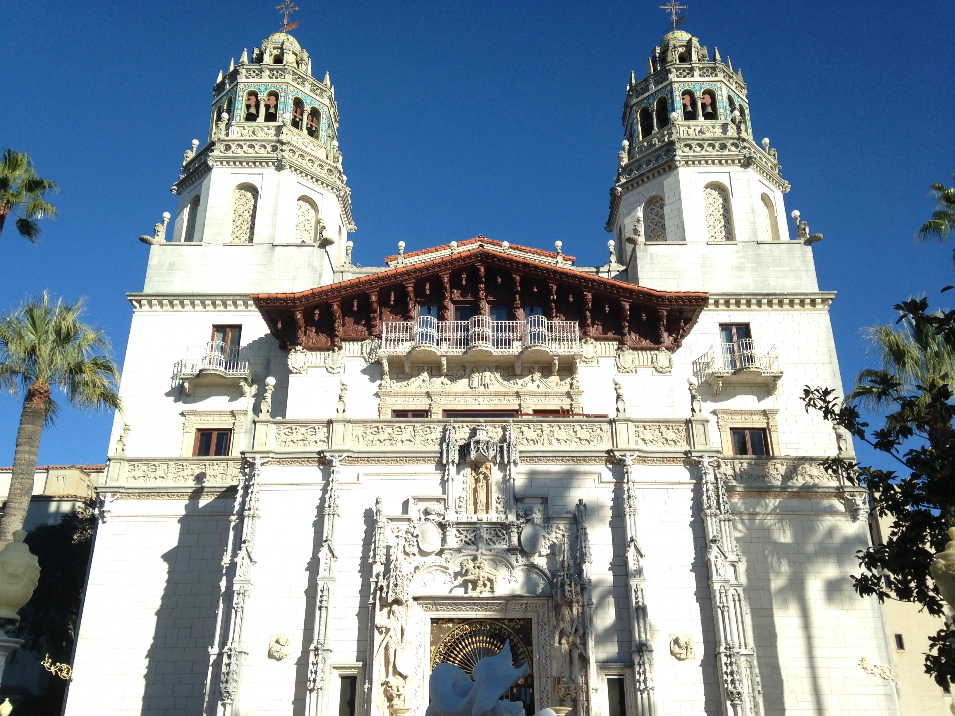 Hearst castle at san simeon nomad interrupted for San simion