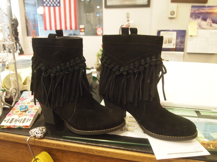my new fringed boots :-)