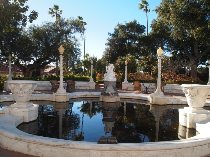 Lily pond on the Main Terrace