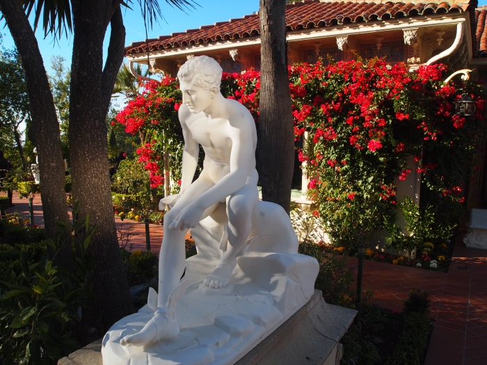 statue on the grounds