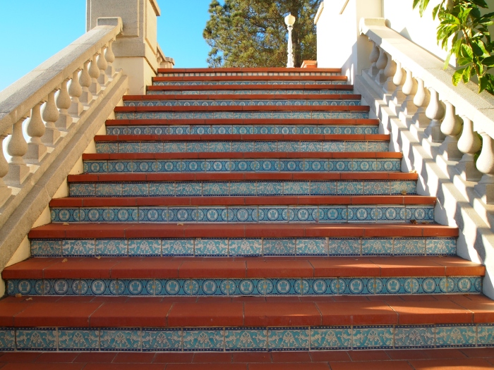 Steps at Casa del Mar