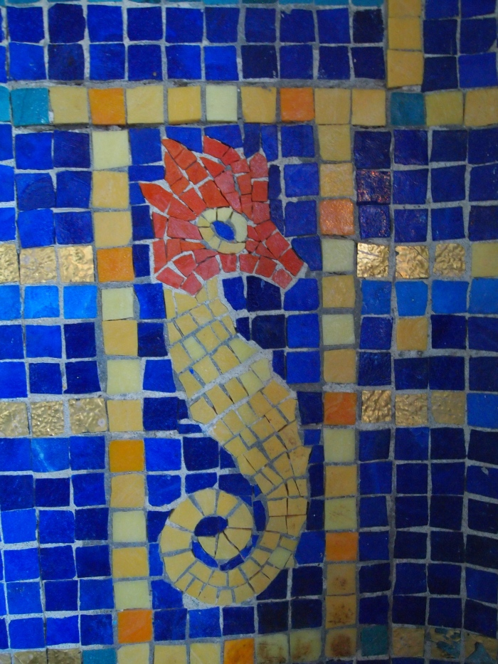 Mosaics in the Roman Pool