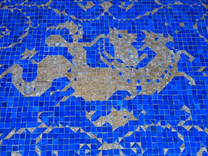Mosaics at the Roman Pool