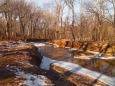 thawing stream