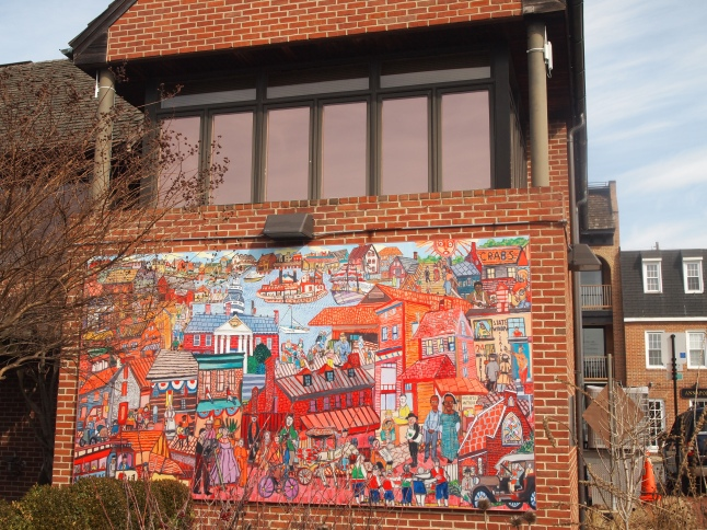 mural in downtown Annapolis