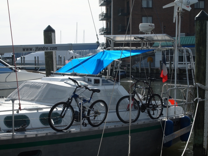 bicycles on boats