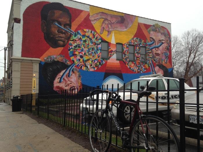 Painted Wall at Club 534