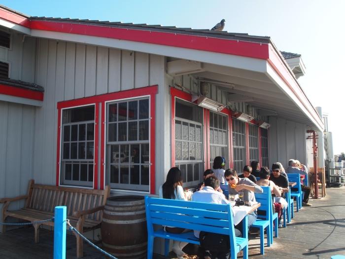 Restaurant on Stearns Wharf