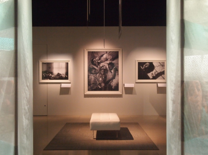 Inside the exhbition