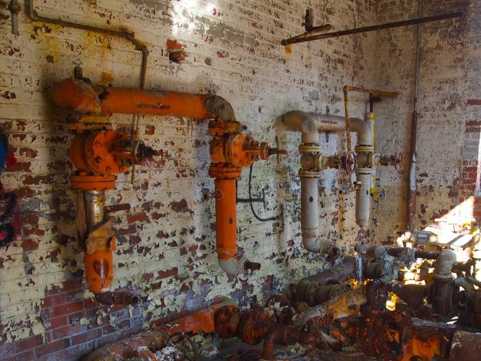 inside machinery