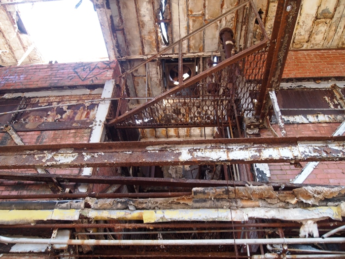 decay and delapidation