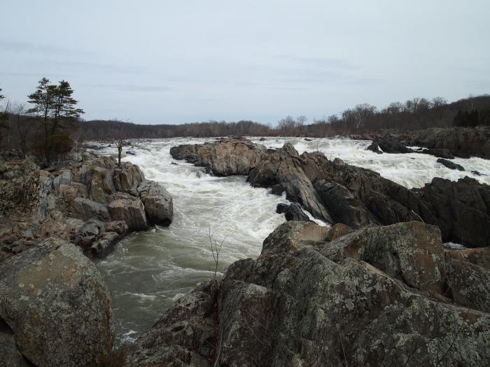 churning waters at Great Falls