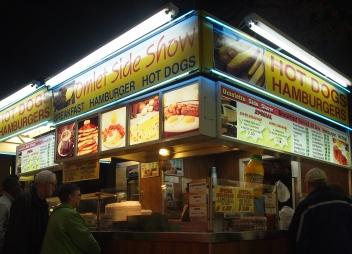 Omelet Side Show