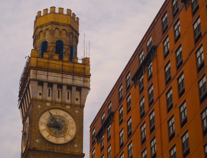 the old Bromo Seltzer Building
