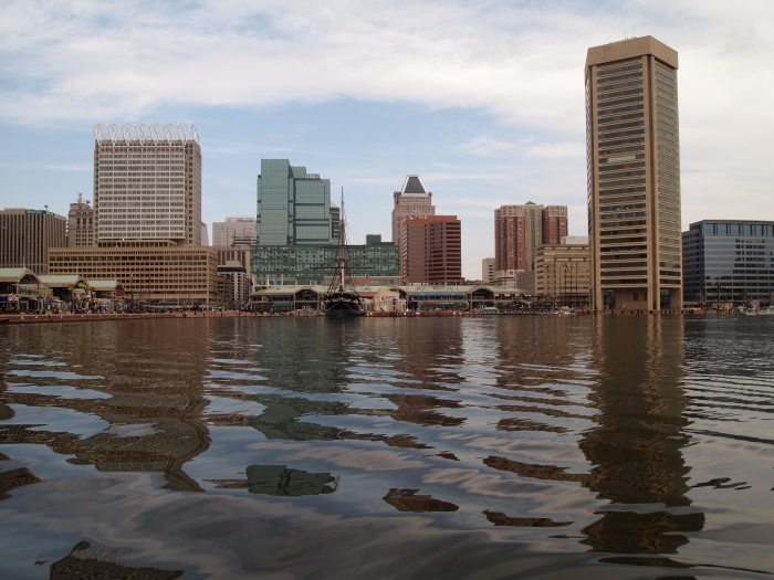 the Baltimore Waterfront