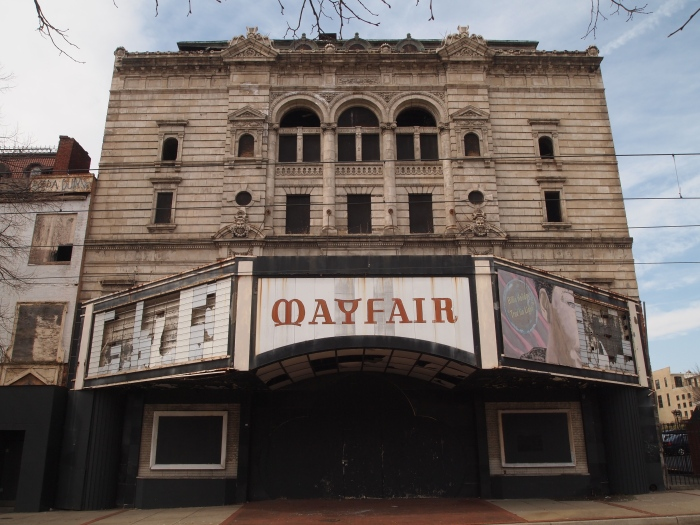 abandoned Mayfair theater