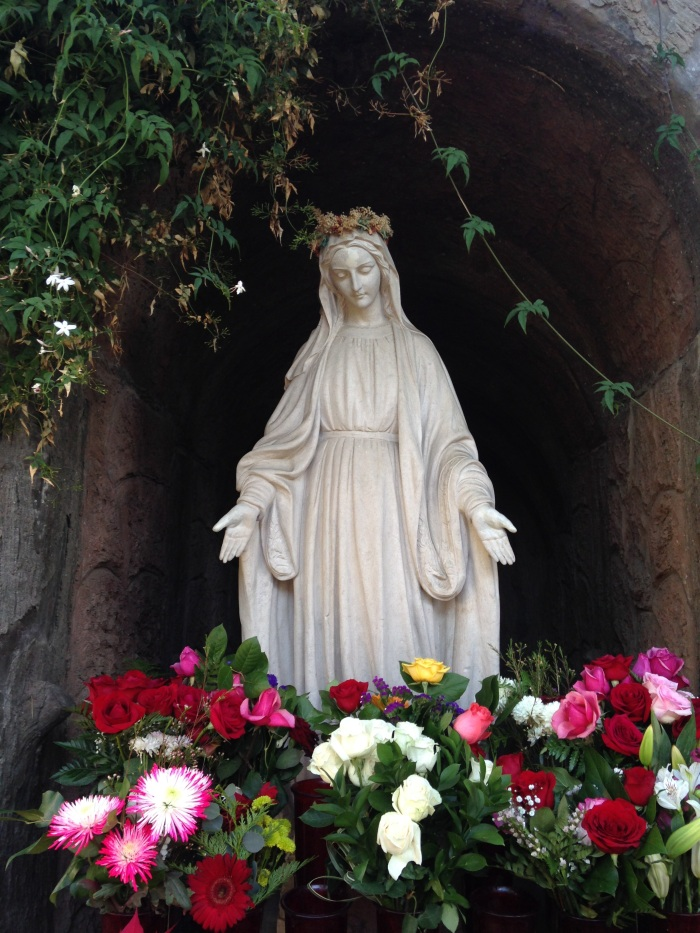 the Virgin Mary at San Buenaventura