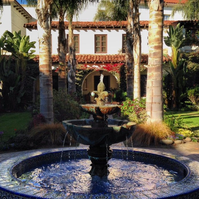 Fountain at San Buenaventura