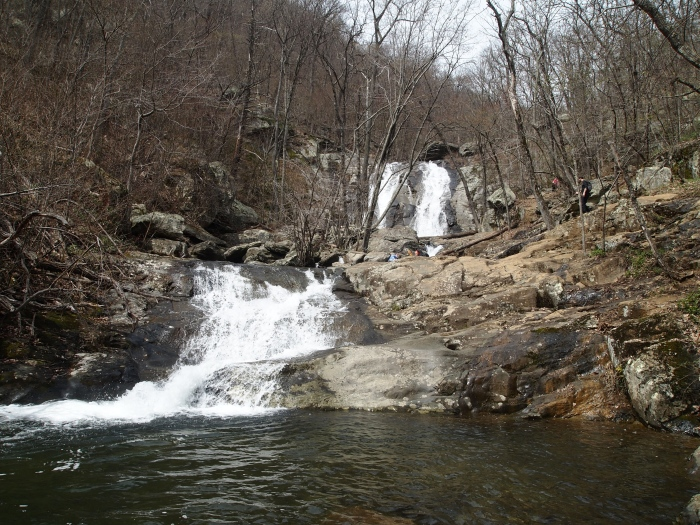Upper and Lower White Oak Falls