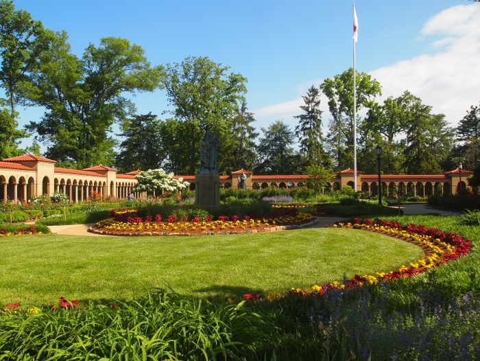 Gardens at the Franciscan Monastery