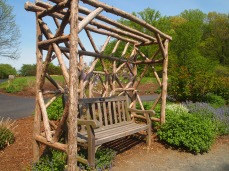Arbor and bench