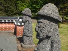 In the Korean Bell Garden