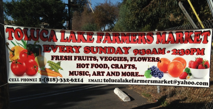 Toluca Lake farmer's market