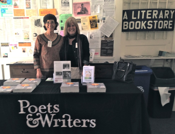 Rosie & me at Poets & Writer's LIVE!