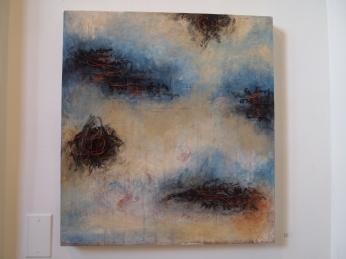 "Lori Anne Brooks ""Ocean (Pattern for Kimono)"""